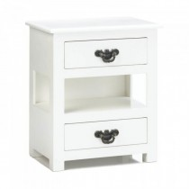 Mini Tabletop Two Drawer Table