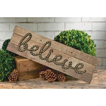 """Believe"" Wall Art"