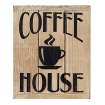 Coffee House 3-Panel Sign