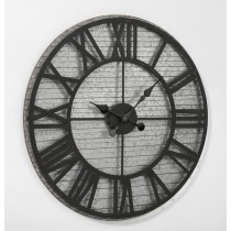 Functional Metal Wall Clock