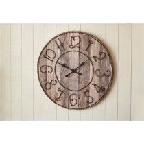 Pieced Wood Clock Key Numbers