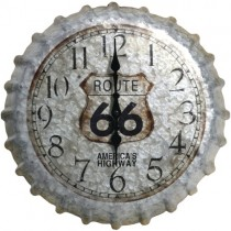 "Springfield 14"" Heirloom Clock (Bottle Cap)"