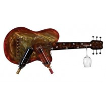 WALL GUITAR WINE HOLDER