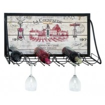 WALL HANGING WINE STATION